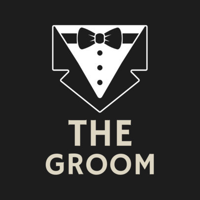 T- Shirt Template for the Grooms Party 1020d