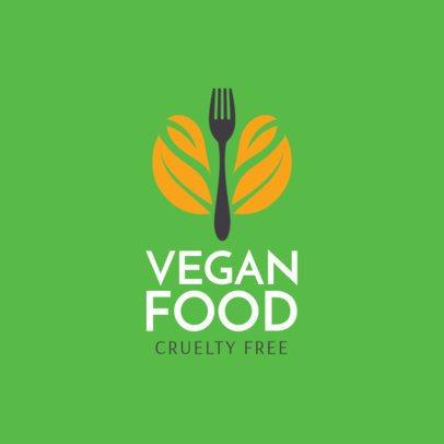Logo Maker Vegan Restaurant a1236