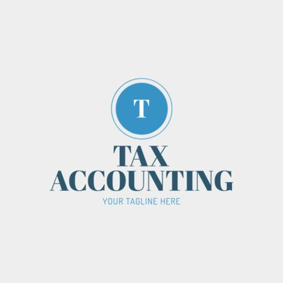 Accounting Logo Maker with Custom Badges 1017a