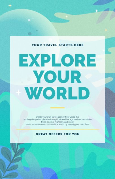 Travel Flyer Maker for Travel Agencies 329
