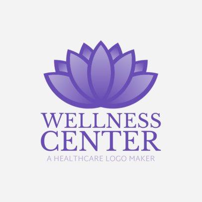 Custom Logo Maker for a Wellness Center 1049d