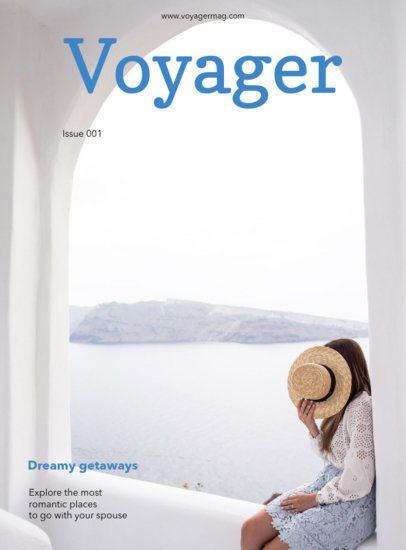 Leisure Travel Magazine Cover Maker 48d