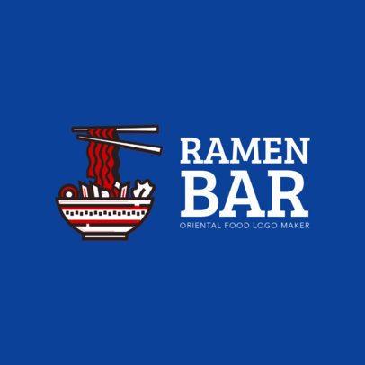 Custom Logo Maker for Ramen Restaurants 1215f