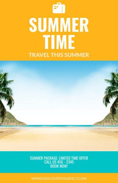 Online Flyer Maker for Travel Agencies Centered Image 307