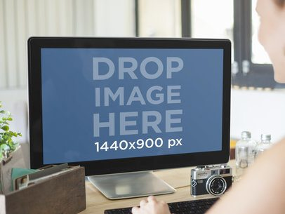 PC Mockup Template at Creative Office