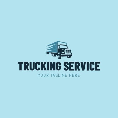 Trucking Services Logo Maker 1181b