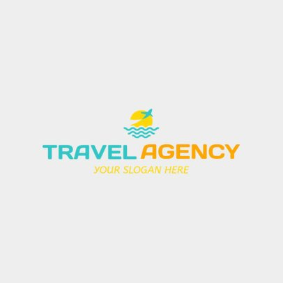 Logo Maker to Design Travel Agency Logos 1148a