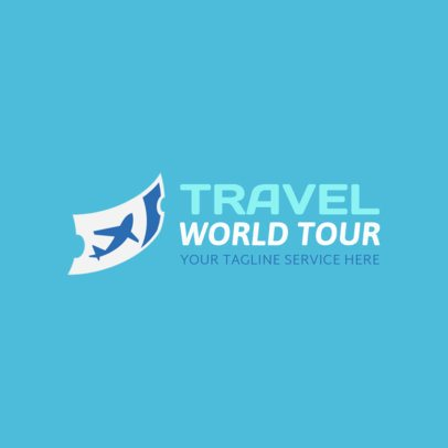 Logo Maker for Travel Services 1148b
