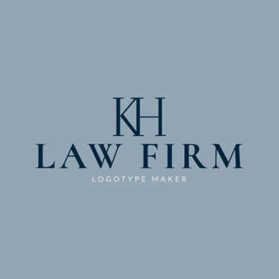 Attorney and Law Logo Maker 1096b