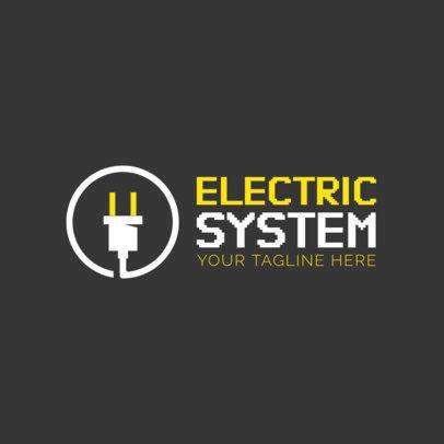 Electronic Business Logo Maker 1140d