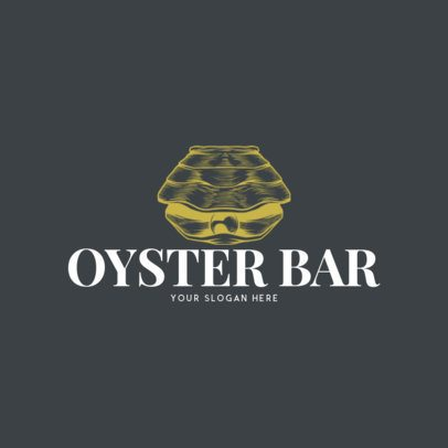 Online Logo Maker for an Oyster Bar Restaurant 973d