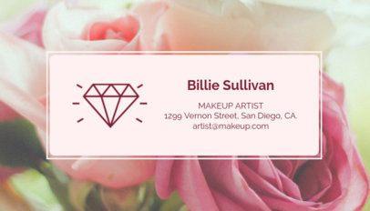 Best Makeup Artists Business Card Template 112d