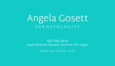 Dermatologist Business Card Maker 203a