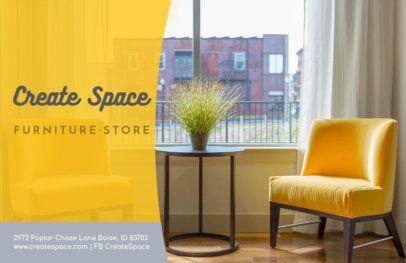 Furniture Store Online Flyer Maker 302d