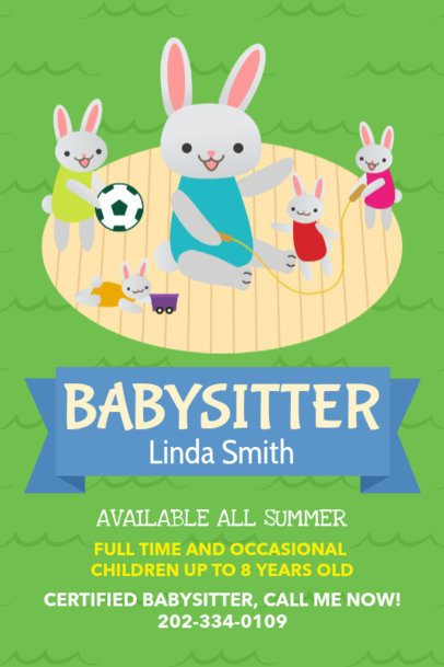 Child Care Online Flyer Maker 326e