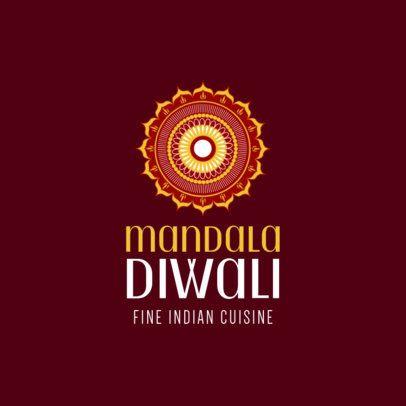 Indian Food Restaurant Logo Maker 1221c