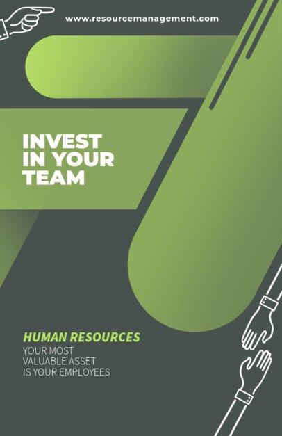 Online Flyer Maker for Hiring Agencies 331a