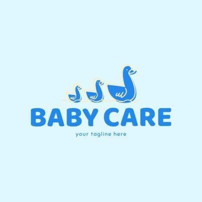 Child Care Services Logo Maker 1198c