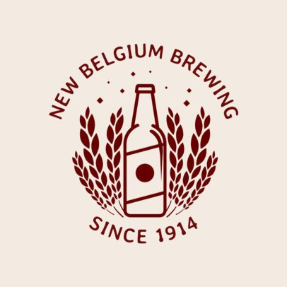 Online Logo Maker for a Brewing Company 1205c