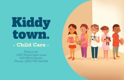 Online Flyer Maker for Child Care Services 315d