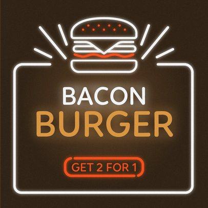 Online Banner Maker for a Burger Restaurant 311