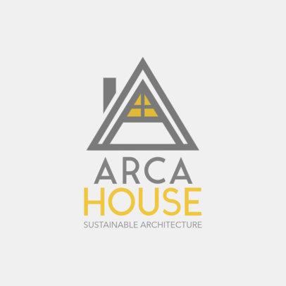 Architecture Brand Logo Maker 1210c