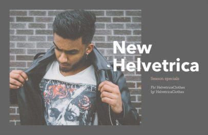 Online Flyer Maker for Urban Clothing Brands 367a