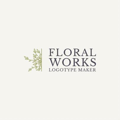 Logo Maker for Florists 1271