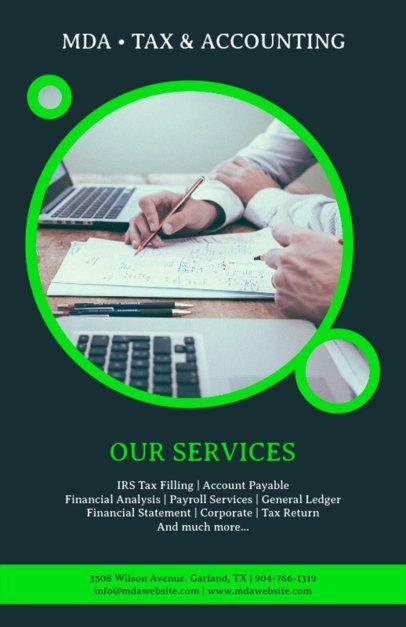 Bookkeeping Flyer Maker 375c