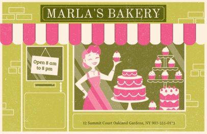 Online Flyer Maker for Cakeries #310e