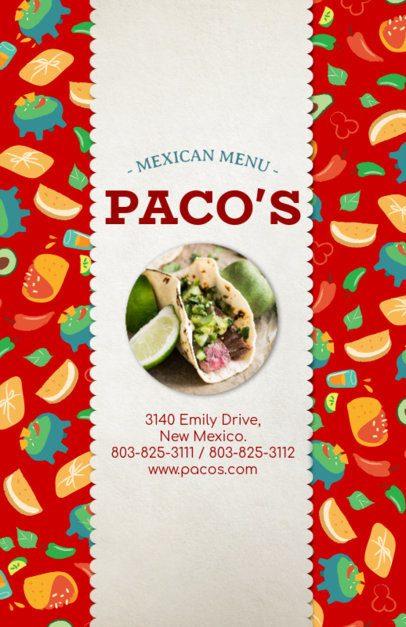 Online Flyer Maker for Taco Restaurants 377d