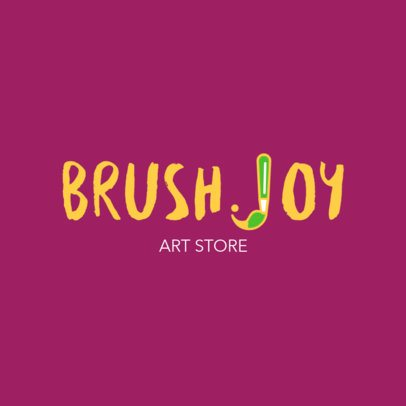 Online Logo Maker for Professional Art Supply Stores 1275a