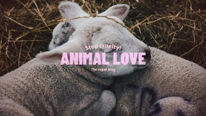 YouTube Banner Maker for Animal Lovers 344e