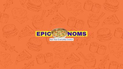 Online Banner Maker for Food Lovers Youtube Channels 399b