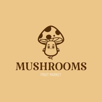 Logo Maker for Mushroom Farms 1303e