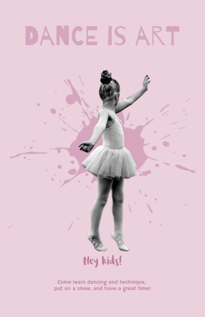 Flyer Maker for Ballet Studios 432e