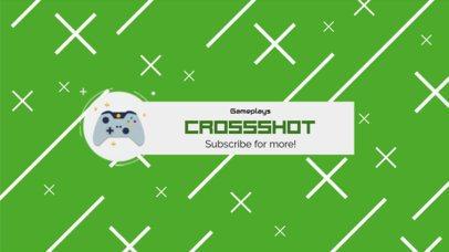 Youtube Banner Design Maker for Cool Gaming Channel 456e