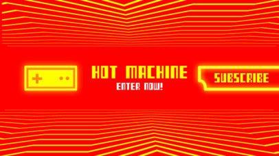 Arcade Gamer Channel Banner Maker 463d