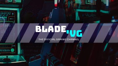 Fantastic Gaming Channel Banner Template 461e