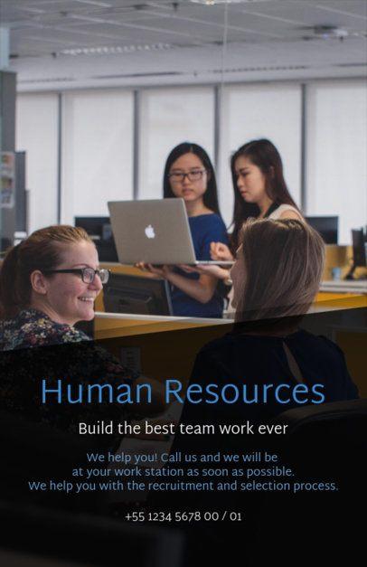 HR Job Posting Flyer Design Template 516b