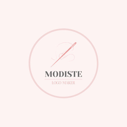 Logo Design Maker for Modiste 1331a