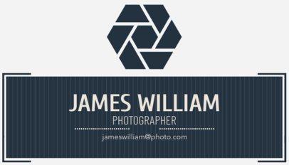 Social Photographer Business Card Maker 507a