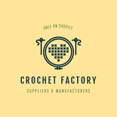 Logo Maker for Crochet and Knitting 1401c