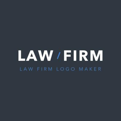 Online Logo Maker for Attorneys 1353d