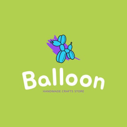 Specialty Balloons Online Logo Maker 1402b