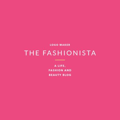 Online Logo Maker for Fashionistas 1410c