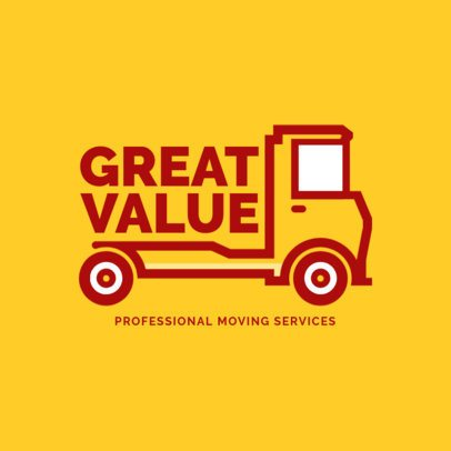 Online Logo Creator for House Moving Companies 1386d