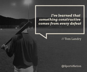 Quote Picture Template for Facebook with Baseball Graphics 616d