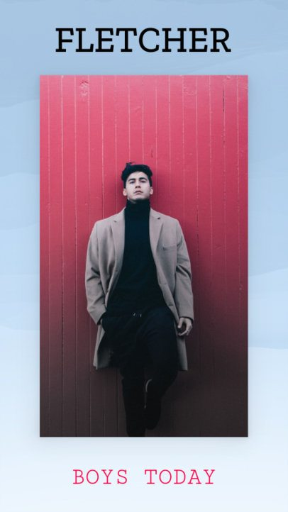 Men's Fashion Promo Insta Story Template 591b