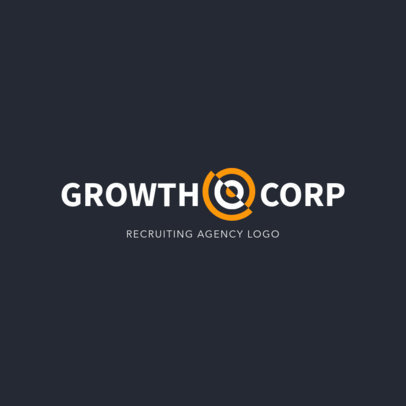 Logo Maker for an HR Agency 1445b
